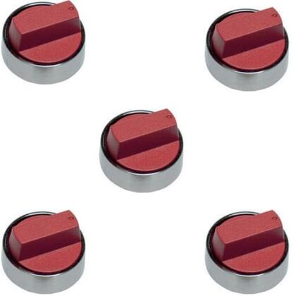 """Wolf 82448X Set of 5 Knobs for 36"""" Gas Cooktop, in"""