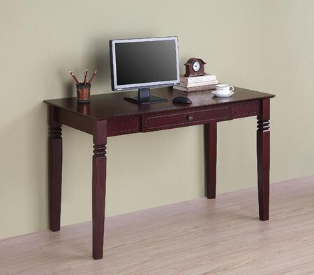Walker Edison DW48S30WB Writing  Wood Desk