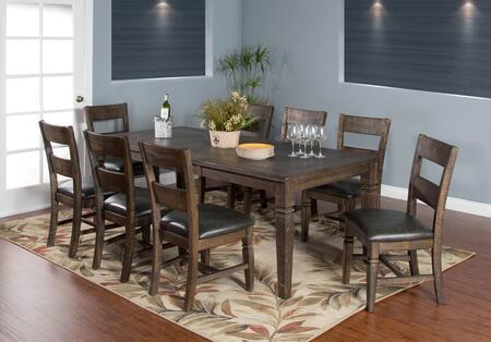 Sunny Designs 1012TLDT8C Homestead Dining Room Sets