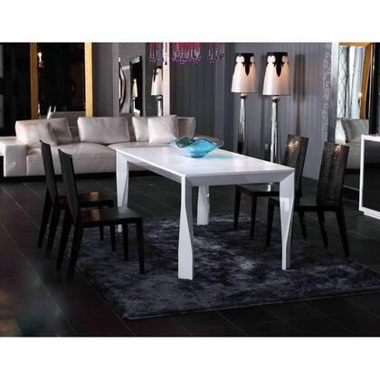 VIG Furniture VGUNAA8121805PCSET A & X Foggia Dining Room Ta