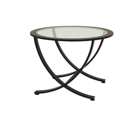 Allan Copley Designs 2090202R Contemporary Oval End Table