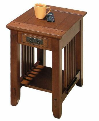 Jofran 0367 Contemporary Square End Table