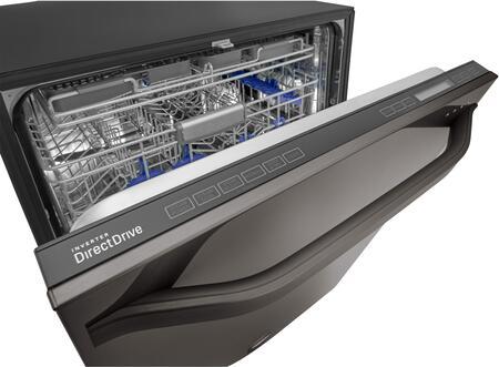 lg studio black stainless steel control panel