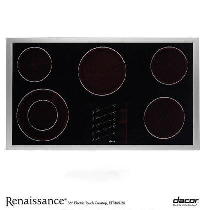 "Dacor ETT3652S 36"" Renaissance Series Electric Cooktop"