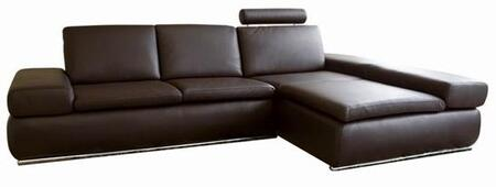 Wholesale Interiors CHAMPAGNE2SEATERDAYBEDBROWN  Sofa