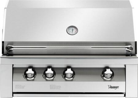 Vintage VBQ36SZGLP Built In Grill, in Stainless Steel
