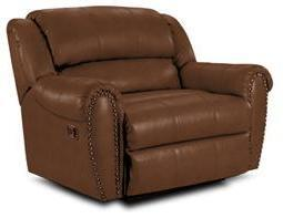 Lane Furniture 21414174597517 Summerlin Series Transitional Leather Wood Frame  Recliners