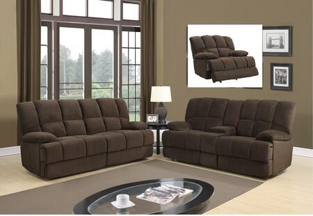 Global Furniture U201RSGRCRLS U201 Living Room Sets
