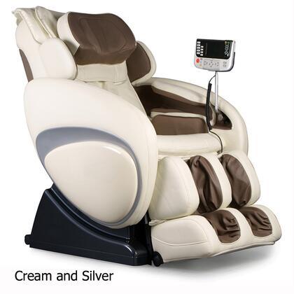 Osaki OS4000CREAMTAUPE Full Body Shiatsu/Swedish Massage Chair