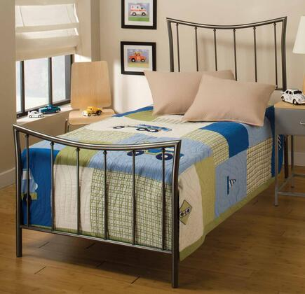 Hillsdale Furniture 1333BTW Edgewood Series  Twin Size Panel Bed