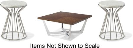 Klaussner 430KL3PCSC2ROEKIT1 Simply Urban Living Room Table