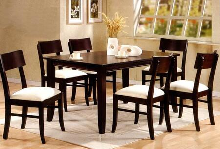 Coaster 100462 Springs Series  Wood Frame Dining Room Chair