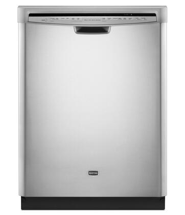 Maytag MDB7749SAM JetClean Plus Series Built-In Full Console Dishwasher with in Stainless Steel