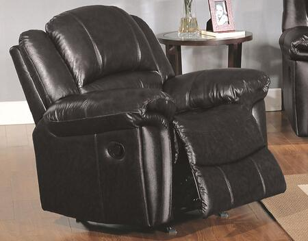 Yuan Tai SU2990CBK Sutton Series Leather Wood Frame  Recliners