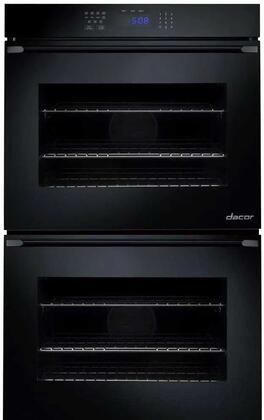 Dacor RNO230Px Double Wall Oven with 4.8 cu. ft. Capaity, Electronic Control Panel, RapidHeat, Hidden Back Element, GlideRacks, Dehydrate and Proof, in