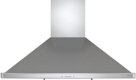 """Zephyr ZSI-E3XAS-ES XX"""" Essentials Europa Series Siena ES Wall Hood with 400 CFM Internal Blower, ICON Touch Controls, Energy Star Certified, ACT Technology and 6 Sones, in Stainless Steel"""
