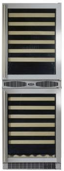 "Marvel 66SWCEBDR 24.13"" Freestanding Wine Cooler, in Panel Ready"