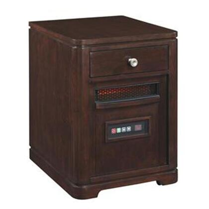 Twin Star 10HET4128 Infrared Portable Heater with 6.686 Cu. Ft., 1500 Watt/5200 BTU Heat Output, 6 InfraRed Quartz Heating Elements, Solid Hardwoods and Real Wood Veneers in
