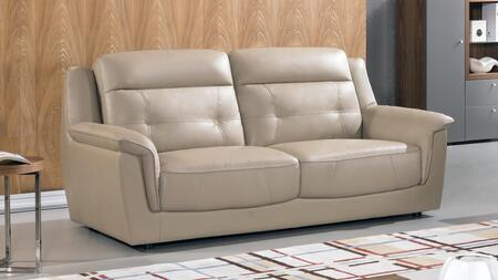 American Eagle Furniture EK042 Leather Match Sofa EK042TANSF Tan ...