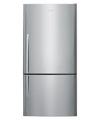 Fisher Paykel E522BLX2  Bottom Freezer Refrigerator with 17.6 cu. ft. Total Capacity