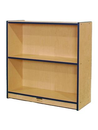 Mahar N36SCASEBL  Wood 2 Shelves Bookcase