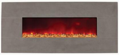Amantii BLTIN58GREYLIMESTONE  NA Electrical Fireplace