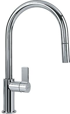 Franke FFP31 Ambient Series Pull-Down Faucet with Full and Needle Spray, and Side Lever in
