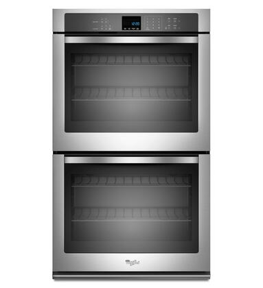 "Whirlpool WOD51EC7AS 27"" Double Wall Oven, in Stainless Steel"