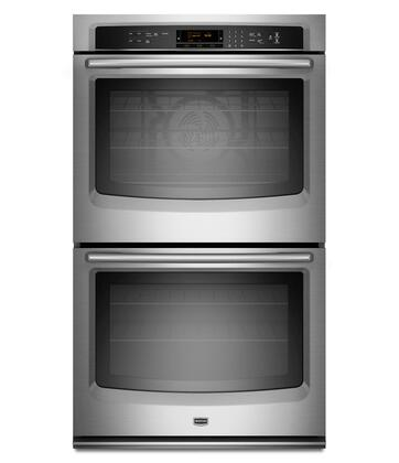 "Maytag MEW9627AS 27"" Double Wall Oven, in Stainless Steel"