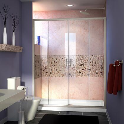 Visions Shower Door RS38 12P 16D 16D 12P BN E