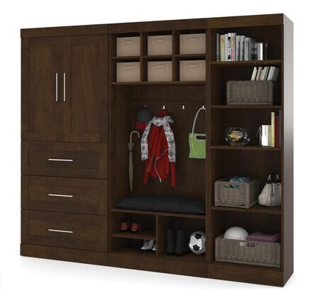 """Bestar Furniture 26855 Pur by Bestar 97"""" Mudroom kit"""