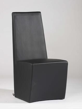 Chintaly CYNTHIA-SC Cynthia Collection Fully Upholstered Modern Chairs