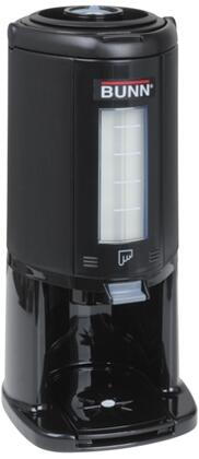 Bunn-O-Matic 45882000x 84.5 oz. 2.5L Thermal Server Base With Glass Airpot Liner, in Black