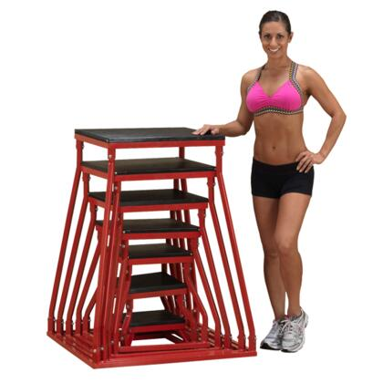 Body Solid BSTPBX Plyo Box Set