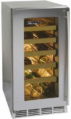 "Perlick HP15WO4LDNU 14.875"" Freestanding Wine Cooler, in Panel Ready"