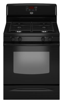 """Maytag MGR7665WB 29.875"""" Gas Freestanding Range 