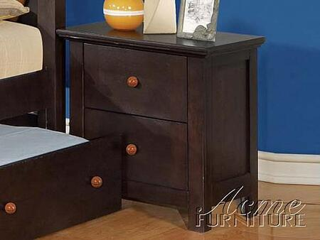 Acme Furniture 1197X All Star X Nightstand in Espresso