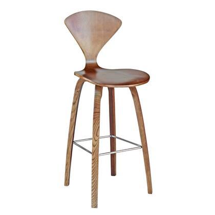 "Fine Mod Imports FMI9253X 30"" Wooden Bar Chair In Finish"