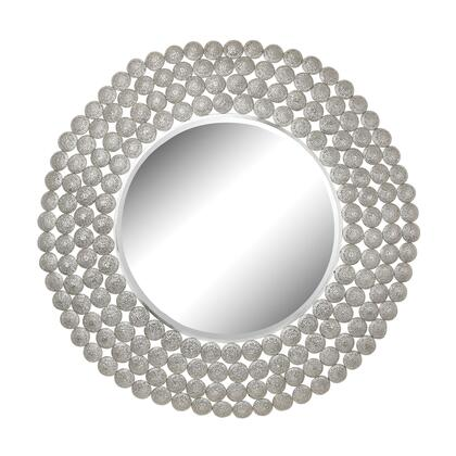Sterling 172013 Pierced Metal Series Round Both Wall Mirror