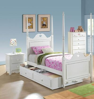 Acme Furniture 30165F4PC Sweetheart Full Bedroom Sets