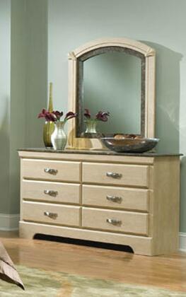 Standard Furniture 56109A Coronado Series Wood Dresser