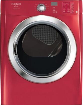 Frigidaire FAQE7072LR Affinity Series Electric Dryer, in Red