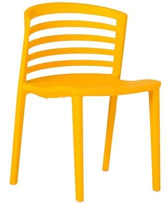 ITALMODERN L3602SFR Venezia Series Modern Not Upholstered Plastic Frame Dining Room Chair