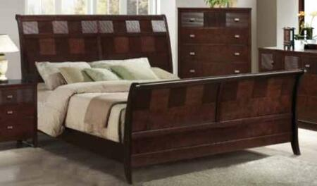 Yuan Tai HD1161K Hidalgo Series  Sleigh Bed