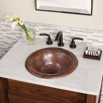 "Native Trails VNTB24 24"" Backsplash with Cut to Match Vanity top, Polished Lightly and Finished in"
