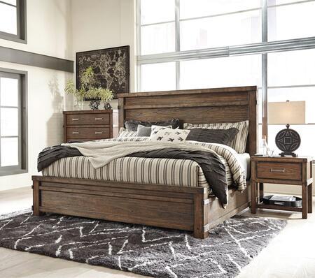 Milo Italia BR6852PCQP2DNKIT1 Berger Queen Bedroom Sets