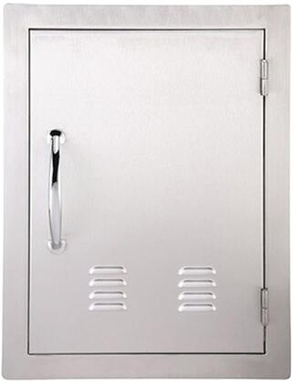 Sunstone A-DV Classic Series Flush Style Vertical Single Access Door with Vent in Stainless Steel