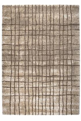 Citak Rugs 7450-025X Onyx Collection - Grid - Ash