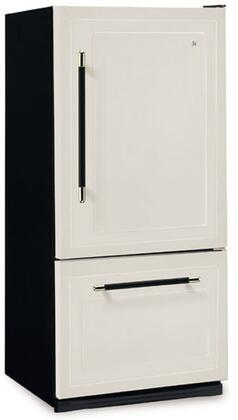 Heartland 306506LHD  Bottom Freezer Refrigerator with 18.5 cu. ft. Capacity in Black