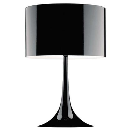 Fine Mod Imports FMI4000 Tulip Table Lamp With Stainless Steel Lamp Shade:X Finish